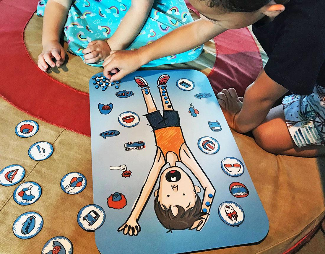 Jogo do Raul Crianças Jogando